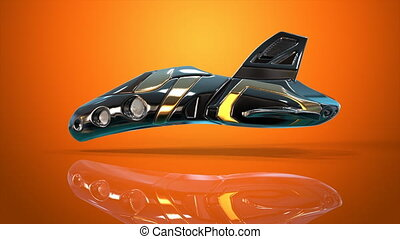futurystyczny, pojazd
