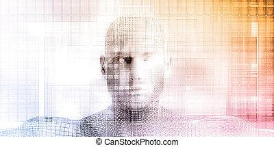 futurystyczny, technologia