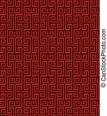 fyrkant, seamless, geometri, mönster, tracery, fönster, ...