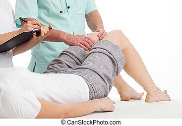 fysioterapi, klinik