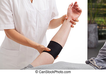 fysioterapi, kontor