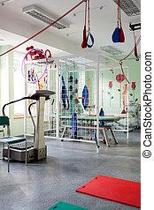 fysiotherapie, machines
