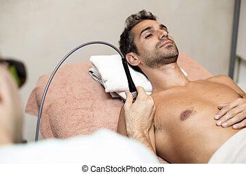 fysiotherapie,  patiënt
