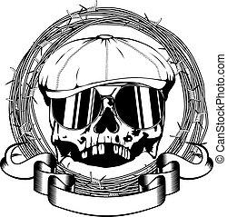 gángster, cráneo