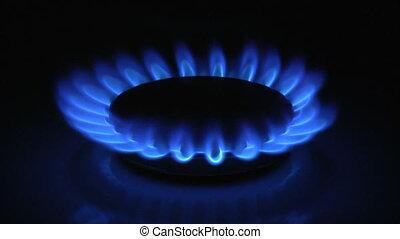 gás, chama