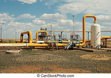 gás, pipeline.