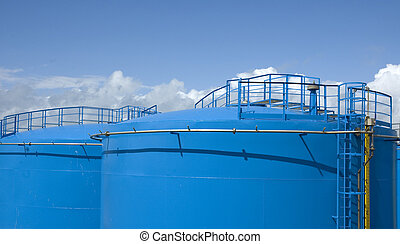 gás, tanque armazenamento
