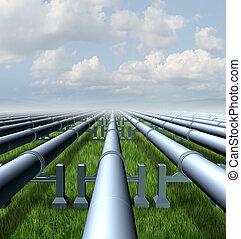 gáz, csővezeték