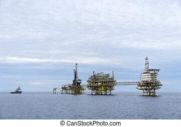 gáz, olaj