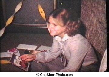 gâteau, (1979), anniversaire, fait maison