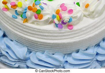 gâteau, 3, anniversaire