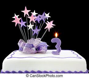 gâteau, 3, nombre