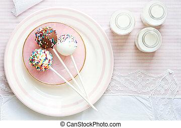 gâteau, bruits secs