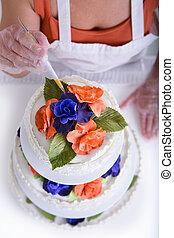 gâteau, confection, au-dessus