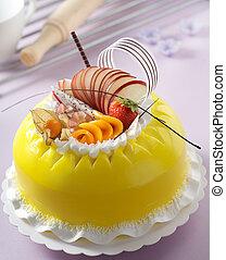 gâteau, délicieux