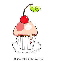 gâteau, illustration
