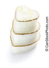 gâteau, miniature, mariage