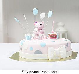 gâteau, ours