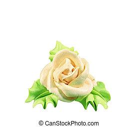 gâteau,  roses, mariage