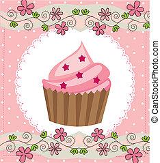 gâteau, tasse