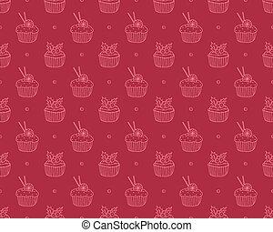 gâteaux, modèle