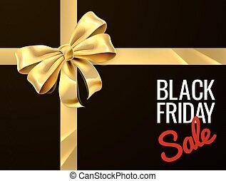 gåva, fredag, försäljning, bog, design, svart, band