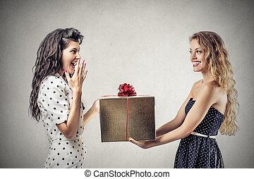 gåva, kvinnor