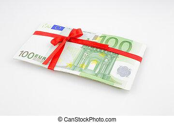 gåva, pengar