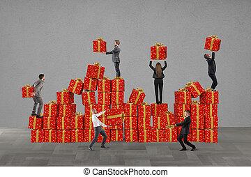 gåvor, jul, lag