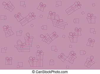 gåvor, mönster, seamless