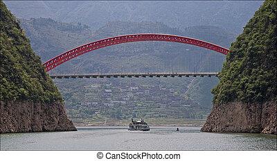 gége, bridzs, folyó, wu, yangtze
