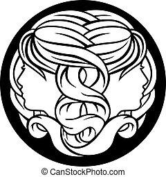 gémeaux, jumeaux, zodiaque, signe astrologie