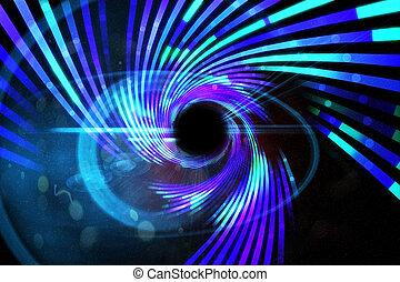 généré digitalement, laser, fond