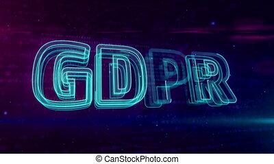 général, règlement, protection, données, boucle, gdpr
