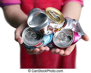 génération, de, recyclage