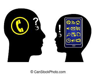 génération, numérique, trouée