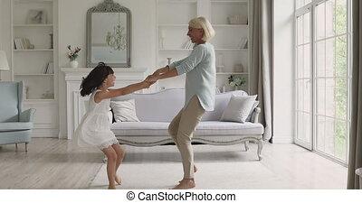 générations, music., joyeux, danse, famille, énergique, ...