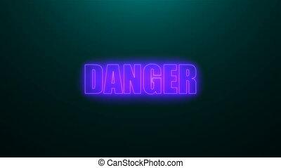 générer, lettres, render, danger, texte, sommet, lumière, ...