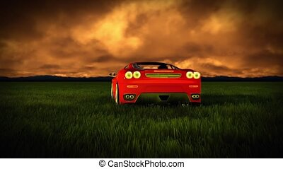 générique, voiture, sports