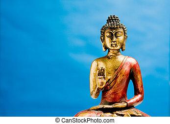 générique, zen, bouddha, statue