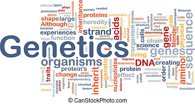 génétique, concept, adn, fond