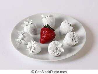 génétiquement modifié, fraises