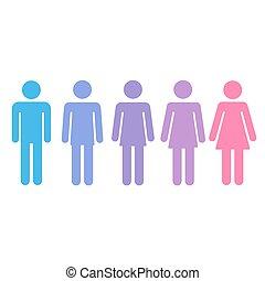 género, concepto, transición