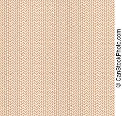 géneros de punto, patrón, seamless, textura, fondo beige, lana