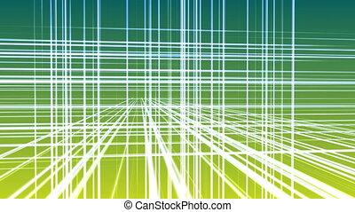 géométrie, 3d, ligne, 4k, espace