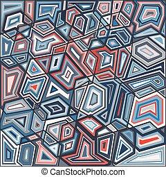 géométrie, couleur
