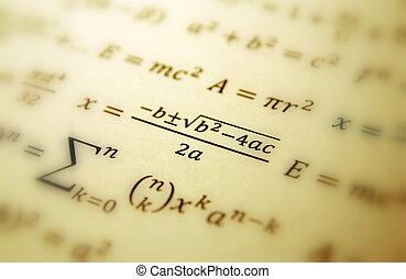 géométrie, math, fond