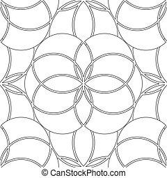 géométrie, modèle, graphique, sacré