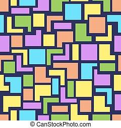 géométrie, modèle, vecteur, seamless