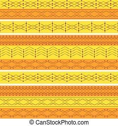 géométrie, pattern., seamless, ethnique